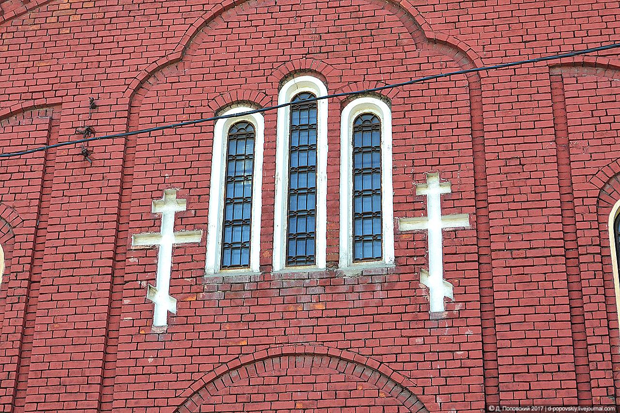 Окна на северном фасаде