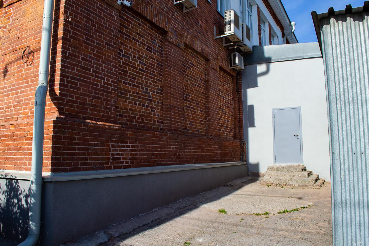Фрагмент юго-восточного фасада