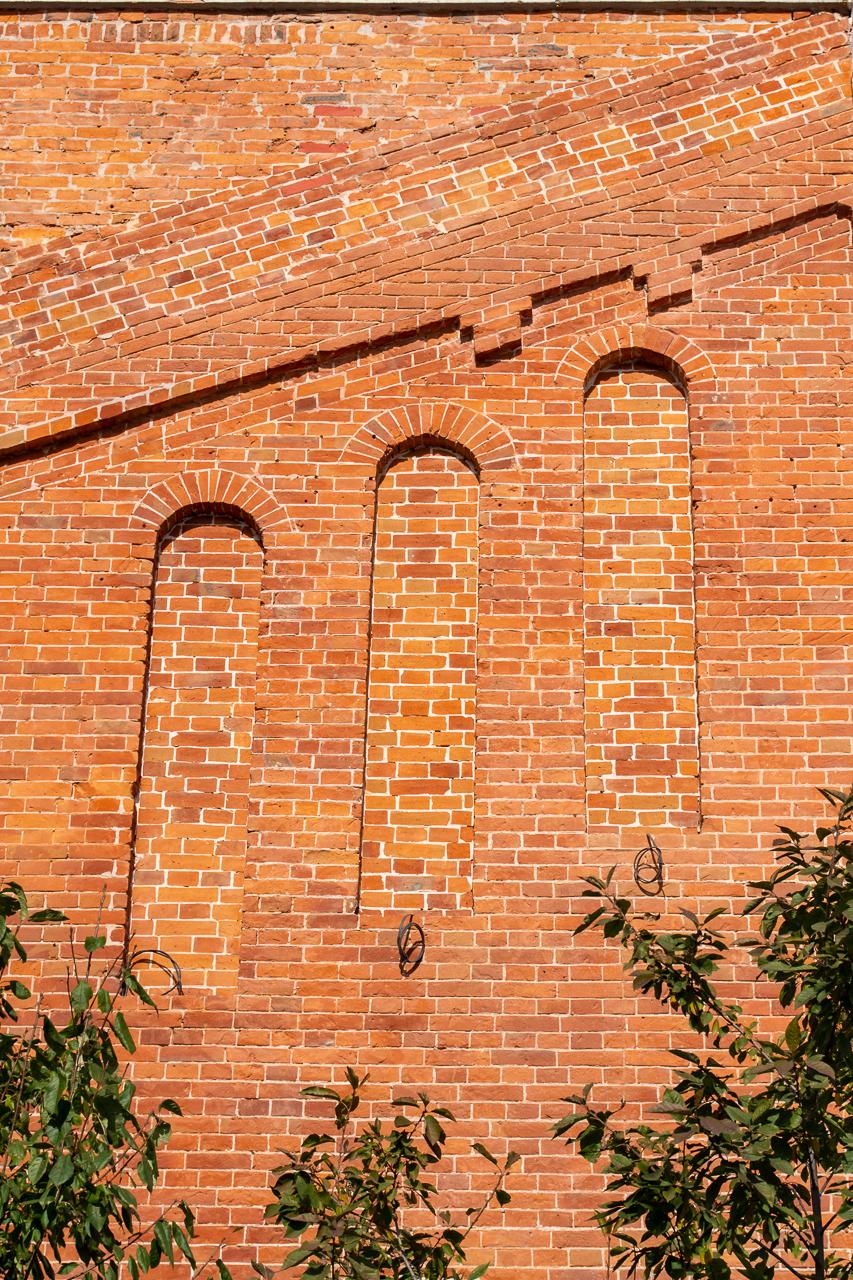 Фрагмент юго-западного фасада