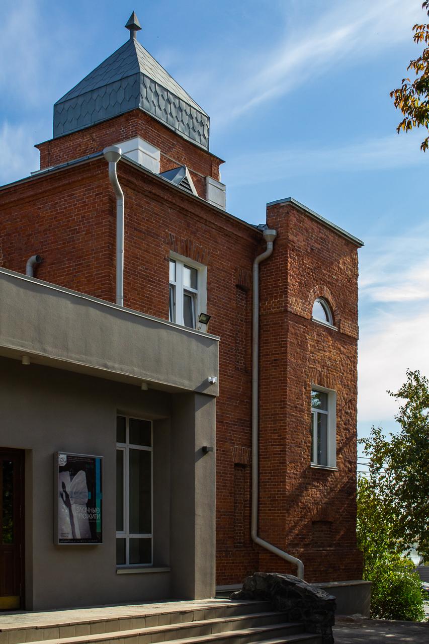 Фрагмент северо-западного фасада
