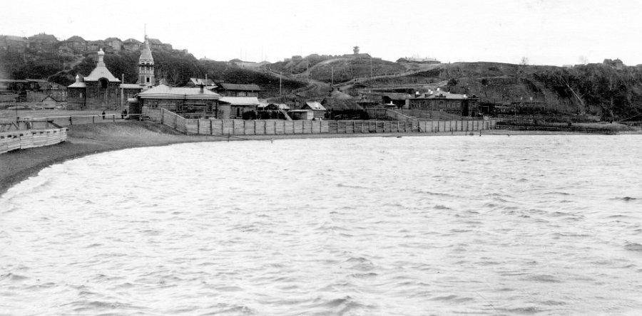 1911-1916 гг. Старообрядческая Крестовоздвиженская церковь.