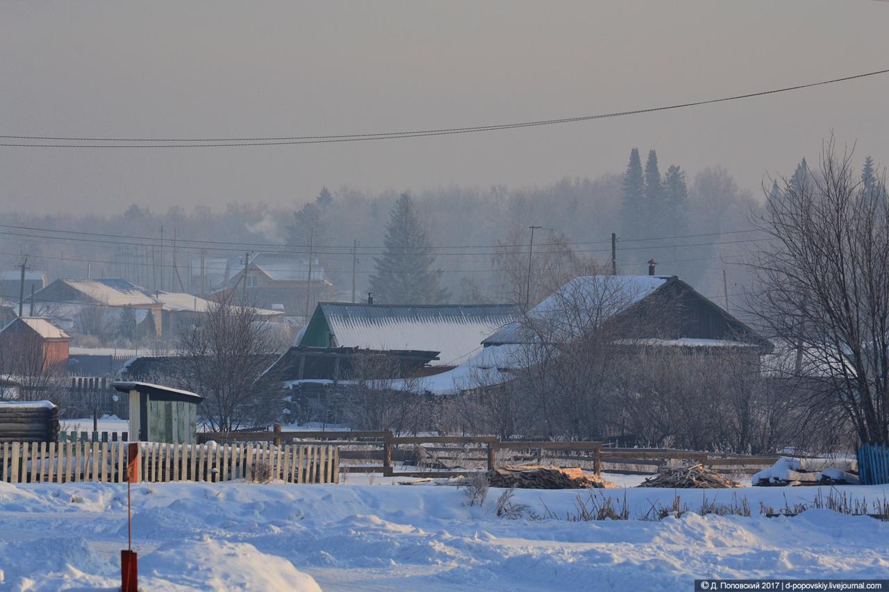 Застройка села Малиновка