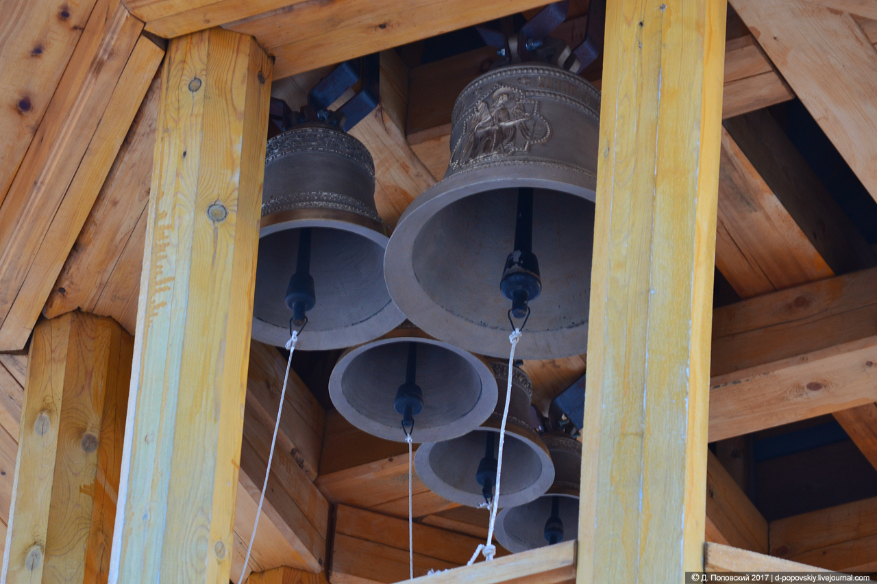 Колокола на колокольне