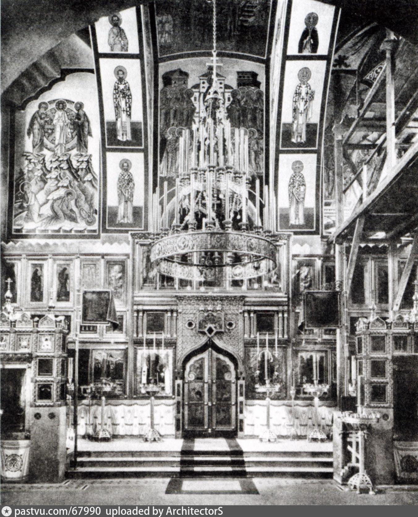 1909 г. Архив ГНИМА им. А. В. Щусева. Источник: https://pastvu.com/p/67990