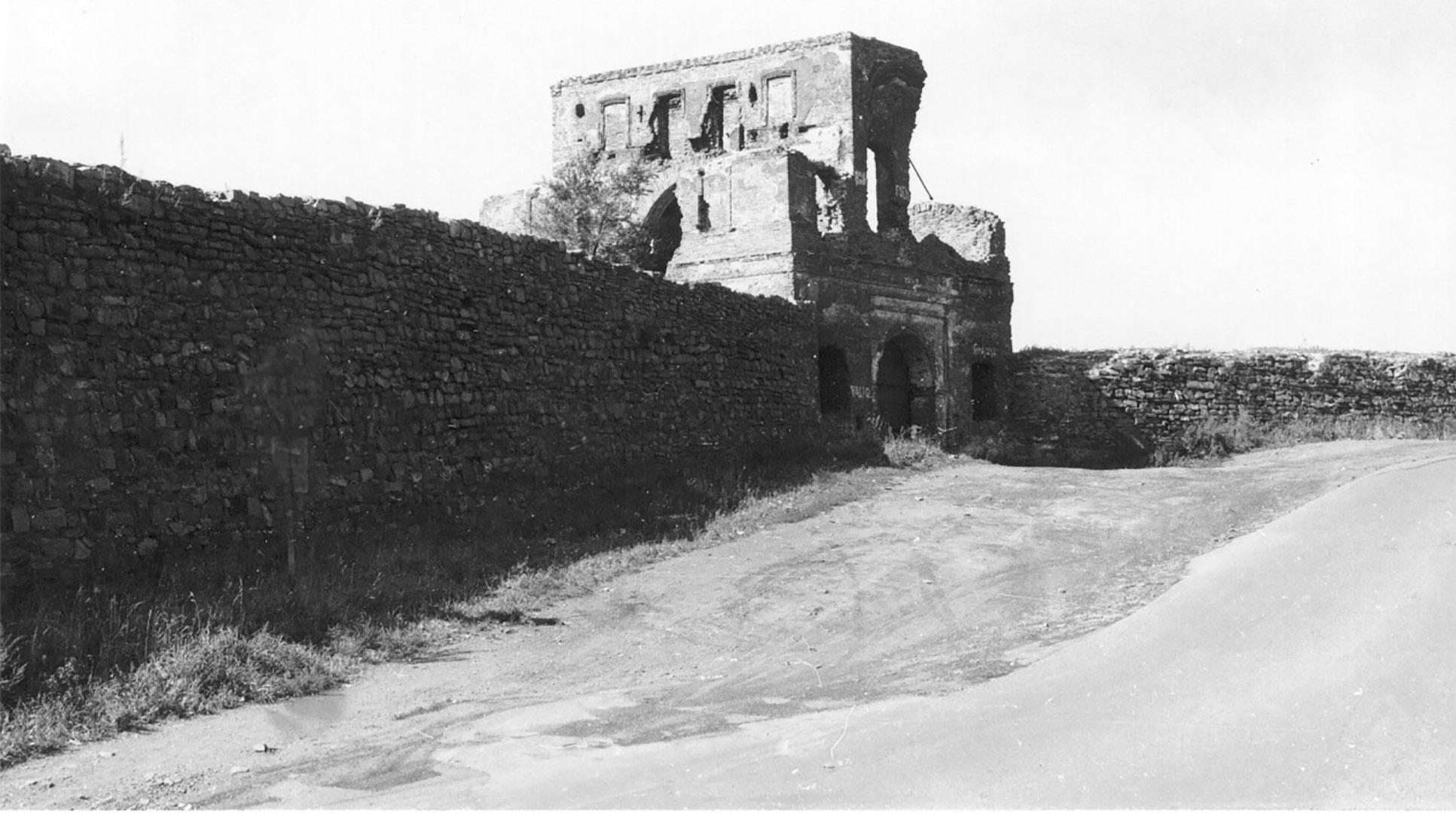 Кузнецкая крепость. Фото 1960-х гг.