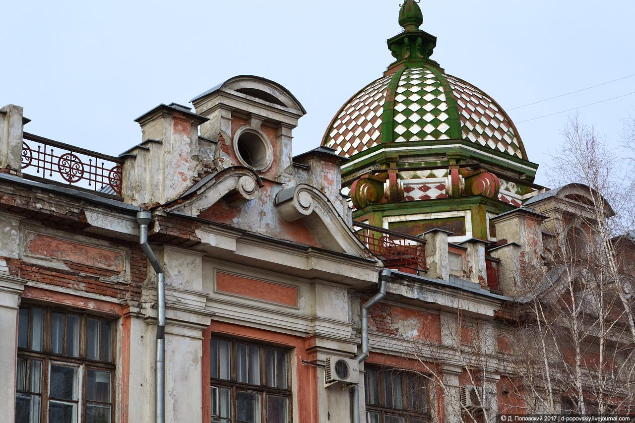 Фрагмент фасада по ул. Льва Толстого