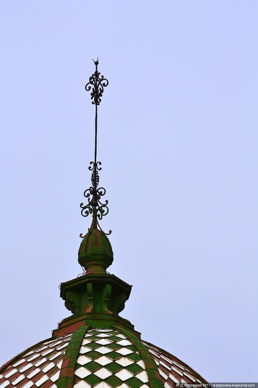 Шпиль на куполе