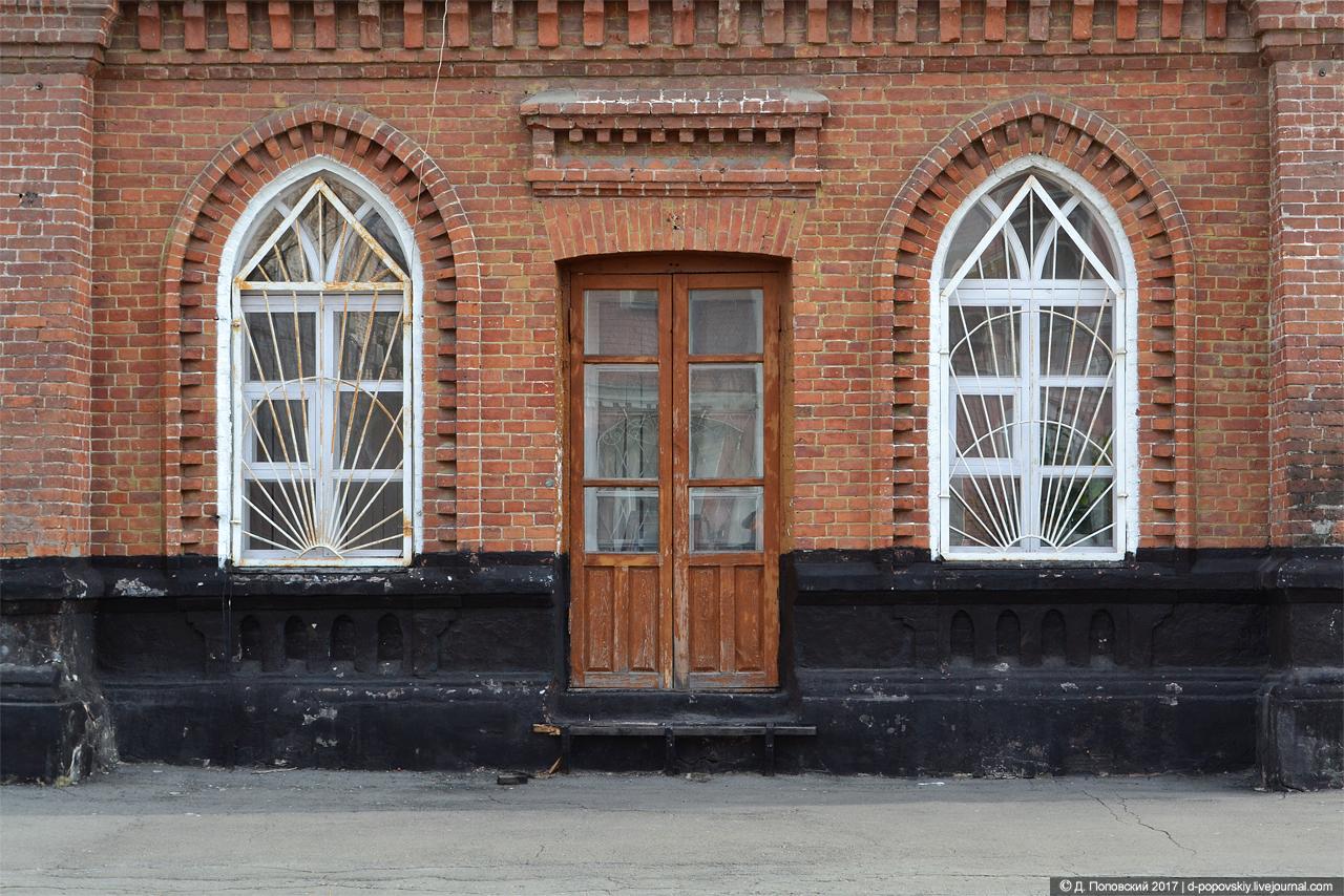 Реальное училище имени Пушкина. Фрагмент фасада