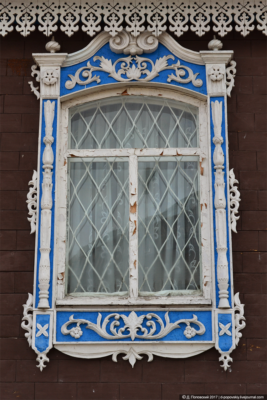 Здание на территории Успенского собора. Фрагмент фасада