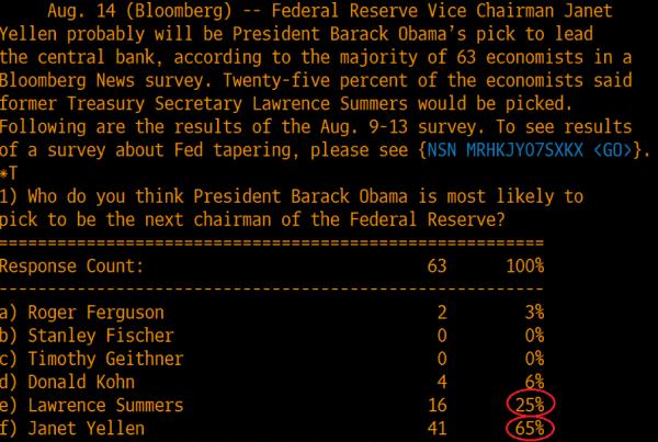 Следующий глава ФРС
