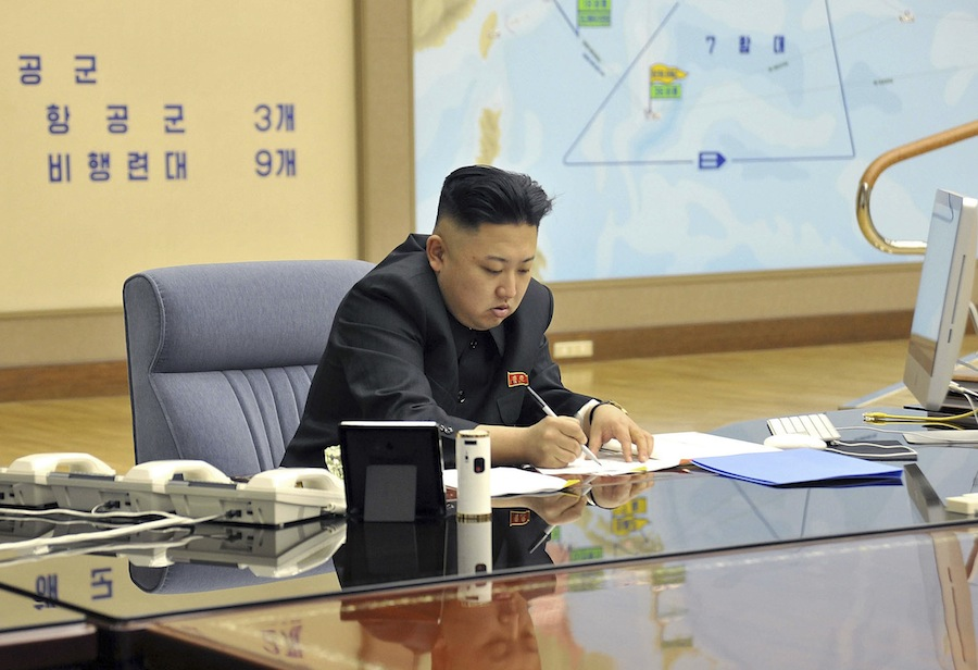 Ким Чен Ын и iMac