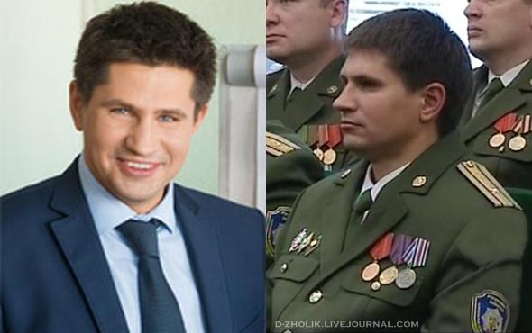 Майор ОАЦ Александр Поляков до и после оперативного внедрения
