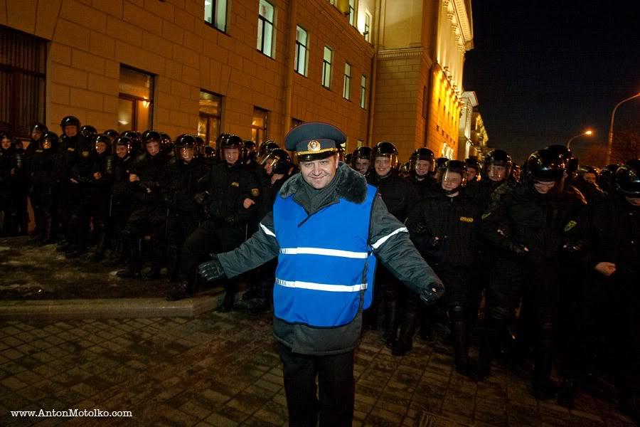 пресс-секретарь ГУВД Мингорисполкома подполковник милиции Александр Ластовский
