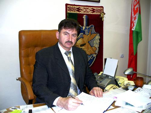 новый начальник Управления военной контрразведки КГБ полковник Александр Назаренко