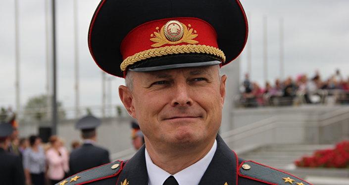 Министр МВД генерал-лейтенант милиции Игорь Шуневич