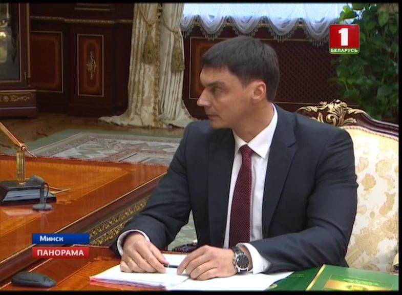 министр по налогам и сборам Сергей Наливайко с часами