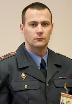 майор Шастайло в Островце