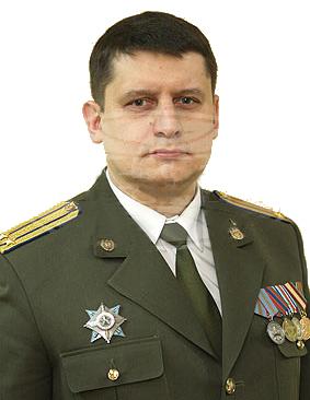 Фото подполковника Владимира Калача на день назначения начальником УКГБ по г. Минску и Минской области