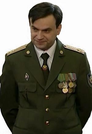 начальник ОАЦ полковник Сергей Шпегун 23 февраля 2012 г.