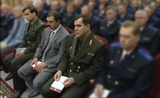 начальник ОАЦ ←  Виктор Лукашенко → председатель КГБ