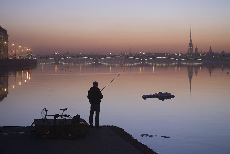 фото рыбаков на неве