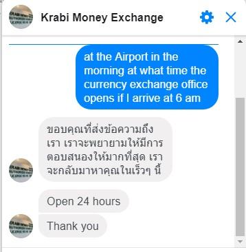 Обмен денег в Таиланде, курсы обмена валют в обменниках