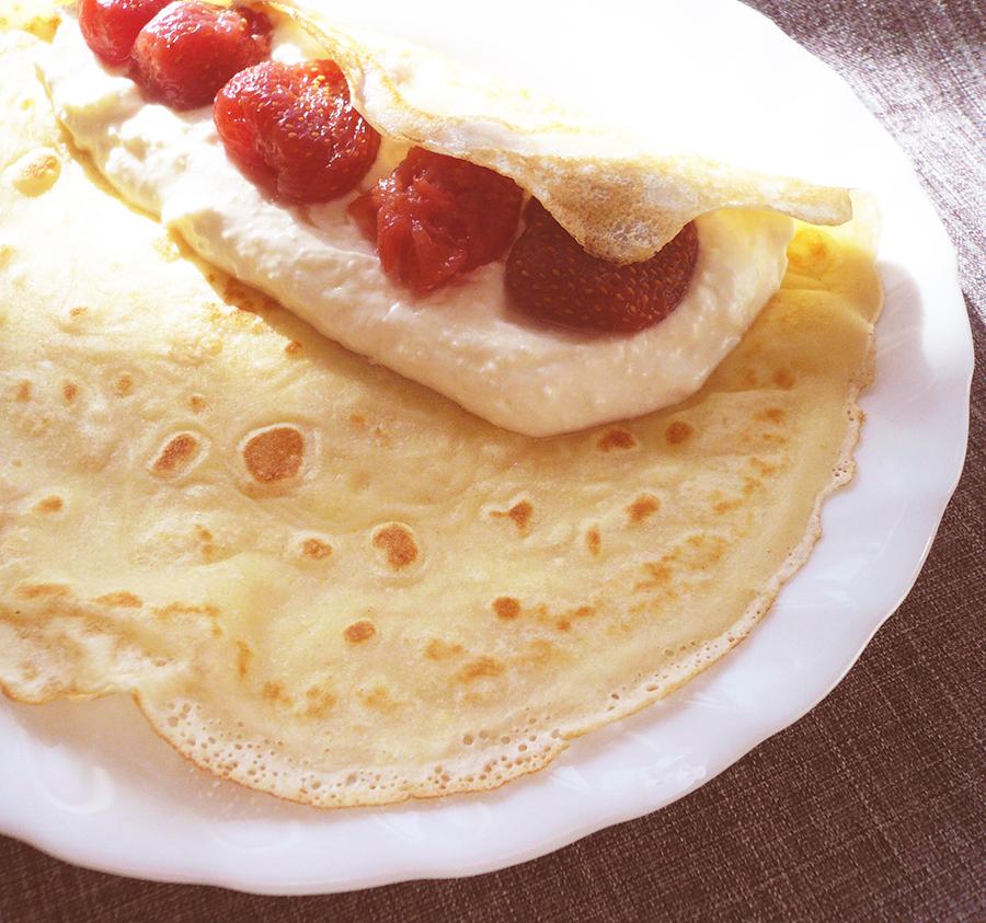 Блины на молоке с сливочным маслом рецепт с фото пошагово