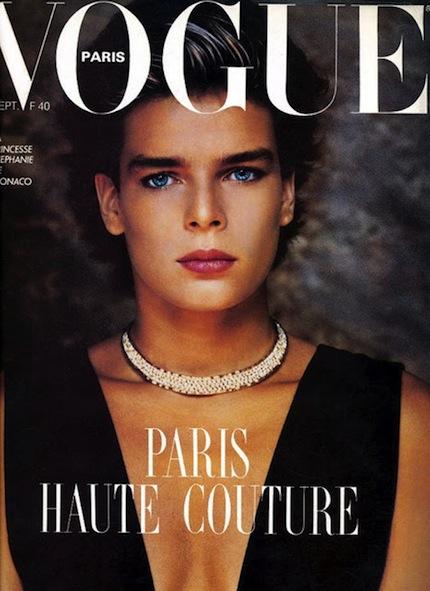 RDuJour.com-Flashback-Princess-Stephanie-of-Monaco-Paris-Vogue-Cover-1983