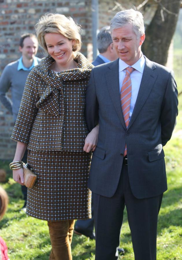 Prince+Philippe+Princess+Mathilde+Visit+Gooik+ERkl9ywoAJPx