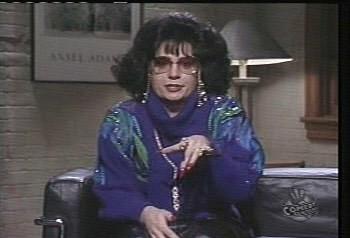 Verklempt! She's like buttah, that one. Talk amongst yourselves.