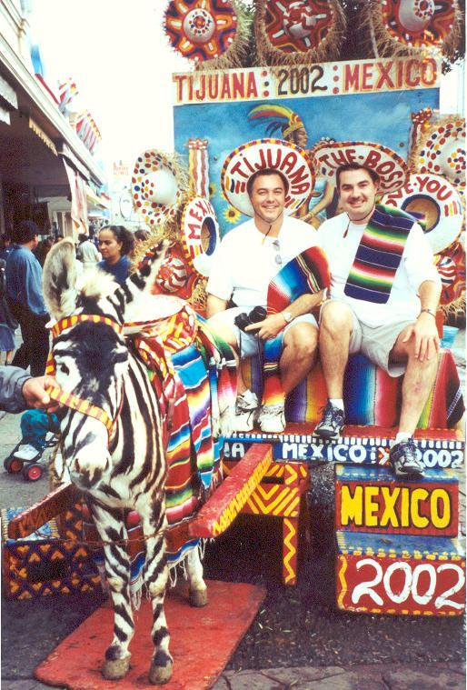 Tacky Tourists in Tijuana