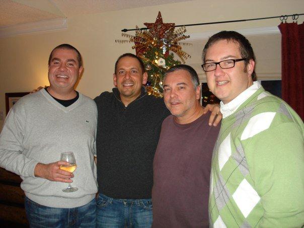 Steve, Joe, John, Will in Garner in 2010