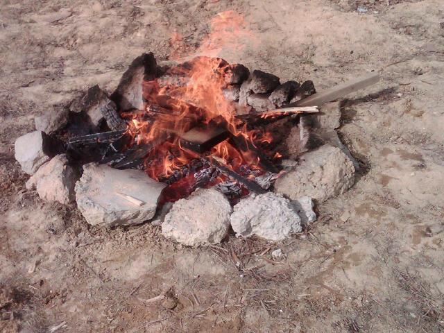 A decent bonfire