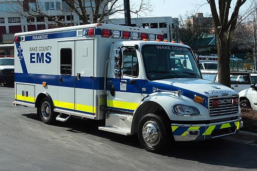 Wake County EMS truck