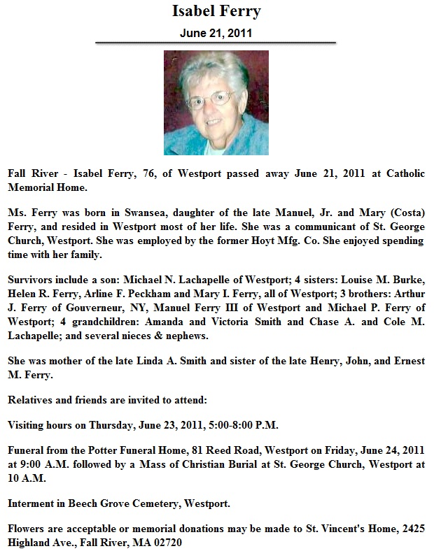 Click to read obituary in text format