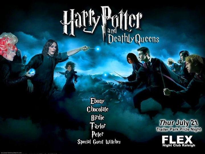 Harry Potter and Deathly Queens night at the trailer park