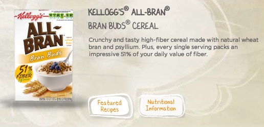 All-Bran Bran Buds with 51% of your daily fiber allowance