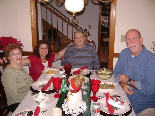 Mom, Vivian, Dad, and Jeff