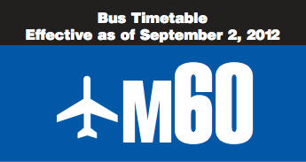 The M60 bus