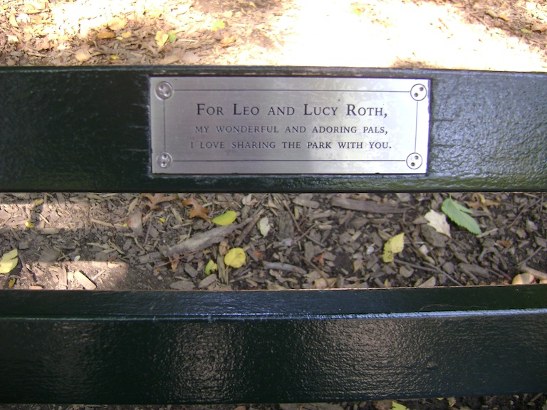 For Leo and Lucy Roth, my wonderful and adoring pals, I love sharing the park with you.