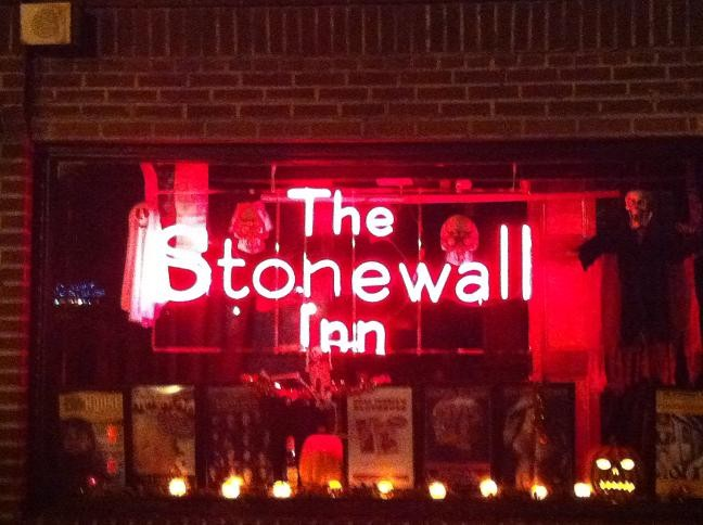 The front of the current Stonewall Inn, which is a bar
