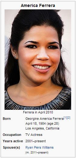 America Ferrera Wikipedia picture