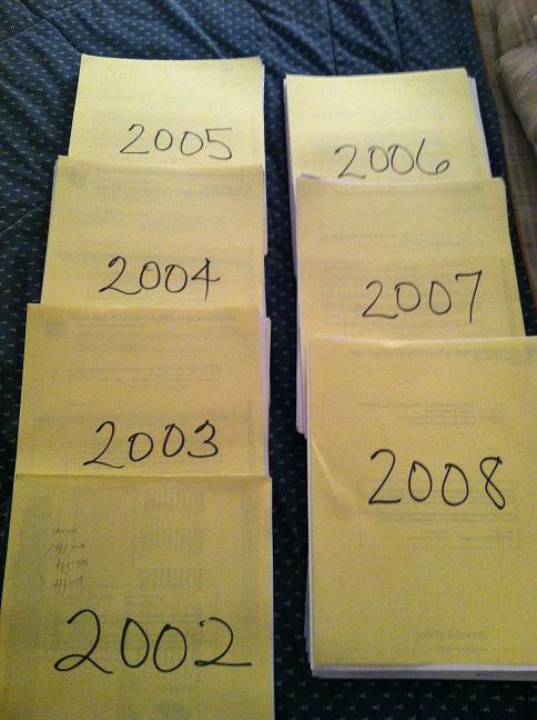 2002-2008 stacks