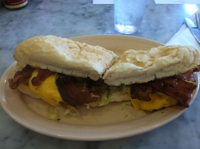Breakfast Po-Boy