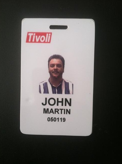 Tivoli badge, 2000