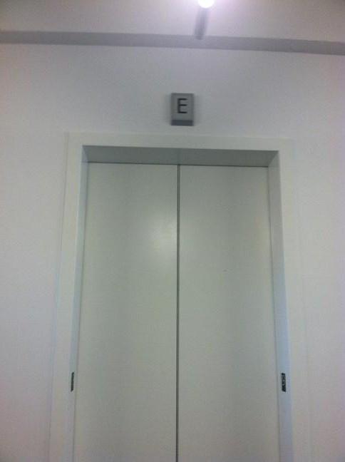 The E elevator