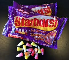 Candy corn flavored Starburst