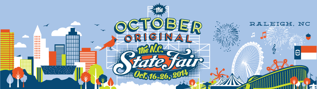 North Carolina State Fair 2014 banner
