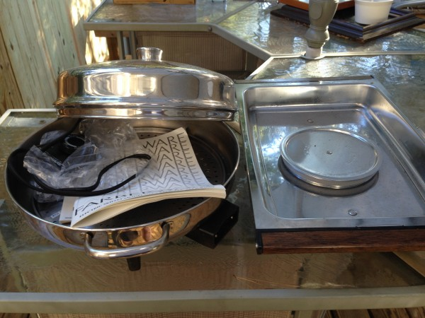 Electric Skillet & Warming Tray
