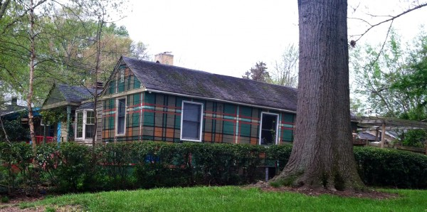 Plaid house